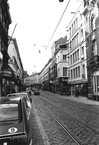 Gent Brabantdam straatbeeld