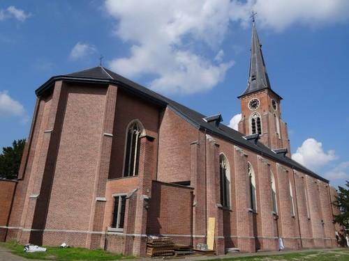 Wichelen Margote 84 Zuidzijde van de Sint-Gertrudiskerk