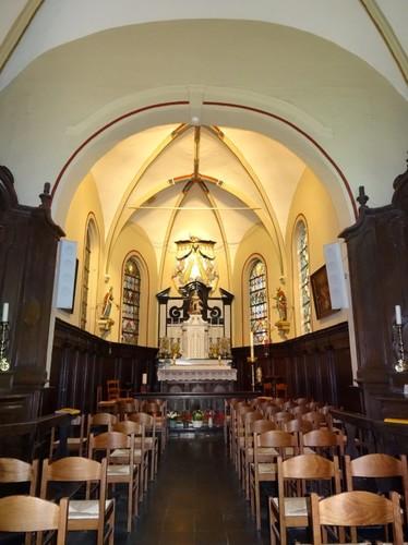 Interieur van de Boskapel