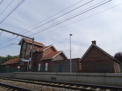 Station Zandbergen met omgeving
