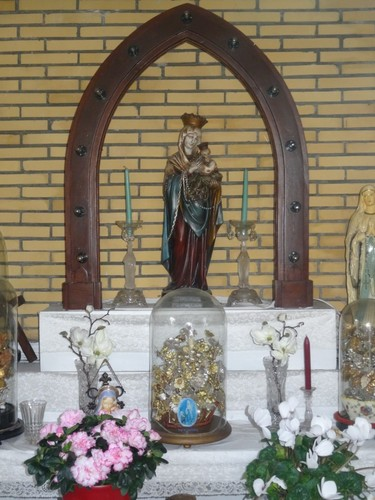 Zele Huivelde zonder nummer Kapel Onze-Lieve-Vrouw ter Nood, interieur