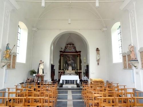 Berlare Kapelleplein zonder nummer Interieur van de Bareldonkkapel