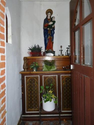 Berlare Alfons De Grauwelaan zonder nummer Interieur van de kapel
