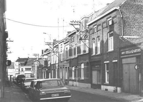 Zottegem Laurens De Metsstraat  straatbeeld