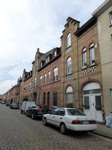 Gent Kunstenaarstraat straatbeeld