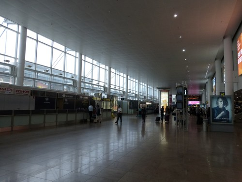 Zaventem Luchthaven Vertrekhal