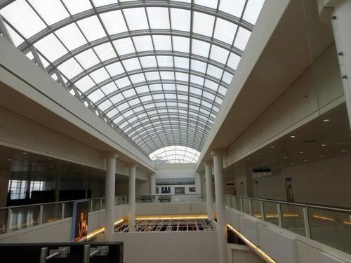 Zaventem Luchthaven nieuw gedeelte 3de-4de niveau