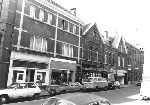 Sint-Niklaas Prins Albertstraat straatbeeld