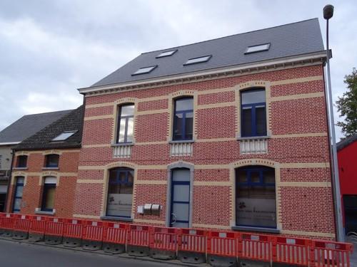 Willebroek Baeckelmansstraat 29-31 van links naar rechts