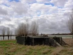 Duitse bunker vliegveld Moorsele