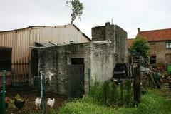 Duitse constructie betonblokken Strooienhaan