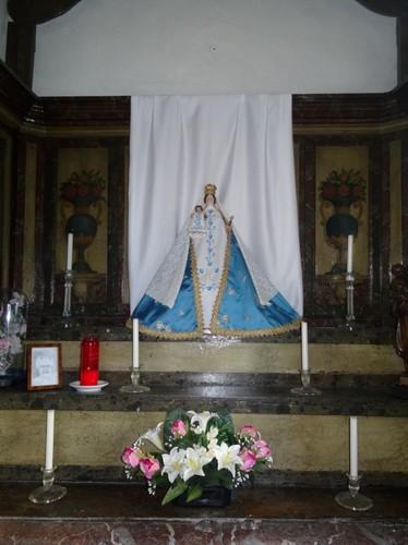 Hamme Burgemeester Lemmensstraat zonder nummer Interieur van de kapel Onze-Lieve-Vrouw van Carmelusberg