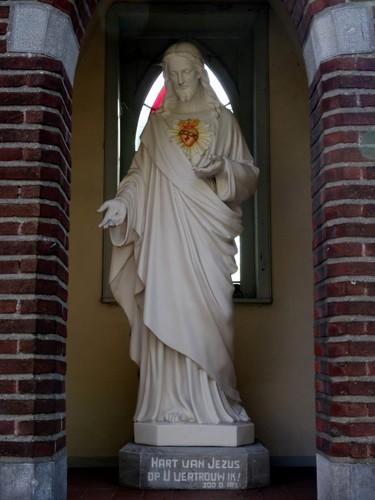 Hamme Dorp zonder nummer Interieur van de kapel Heilig Hart van Jezus