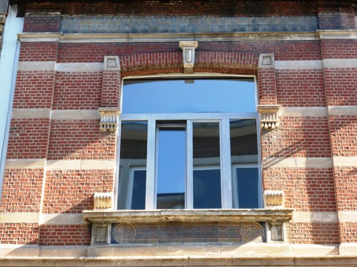 Antwerpen Grotehondstraat 73 detail