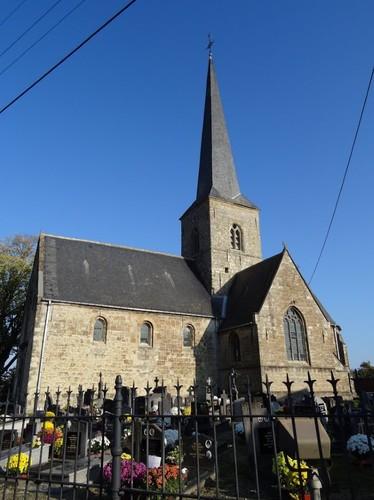 Wetteren Westremstraat 1 Kerkhof bij de Sint-Martinuskerk