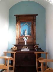 Lokeren Nonnenbosweg zonder nummer Interieur van de kapel (https://id.erfgoed.net/afbeeldingen/216744)