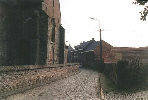 Zwalm Rozebekeplein kasseistraat