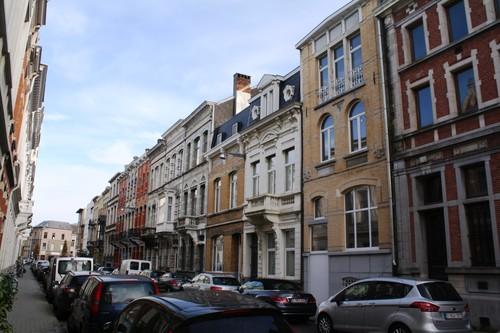 Antwerpen Bosduifstraat  4 en volgende, even straatzijde
