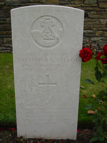 Dickebusch Old Military Cemetery: Special Memorial