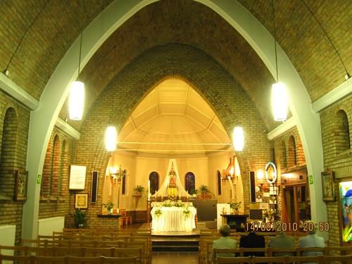 Beringen Fonteintjesstraat 18 Interieur van de kapel