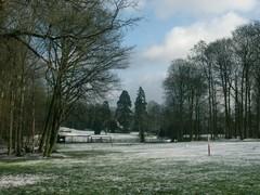Park van het Kasteel Steenpoel
