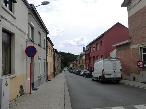 Tervuren Bergestraat straatbeeld