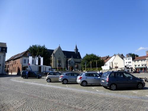 Tervuren Markt straatbeeld