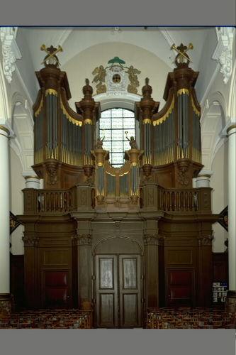 Zele Markt zonder nummer Sint-Ludgeruskerk Van Peteghem orgel