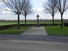 Omgeving van het Iers Kruis op de Keiberg