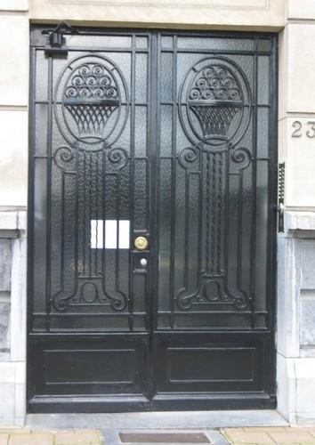Antwerpen Prins Abertlei 23-24 portaal