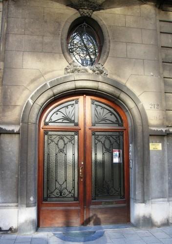 Antwerpen Mechelsesteenweg 212 portaal