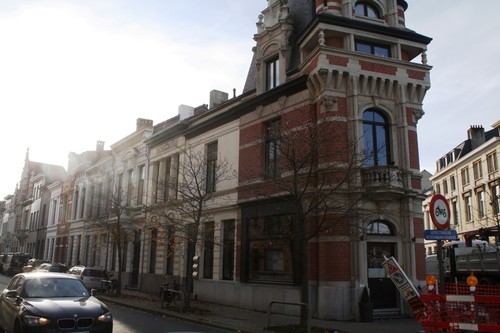 Antwerpen Wolfstraat oneven zijde 1-35