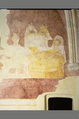 Muurschilderingen in de slotkapel