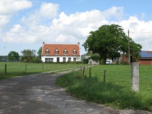 Oude boerderijsite in Hontseindestraat