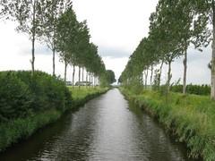 Scheldepolders rond de Oesterput met overgang naar de zandstreek