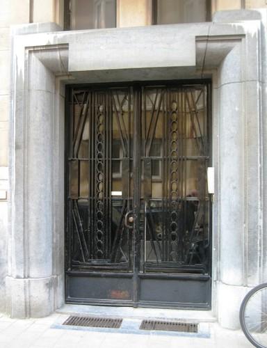 Antwerpen Consciencestraat 4 portaal