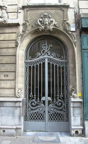 Antwerpen Plantin en Moretuslei 69 portaal
