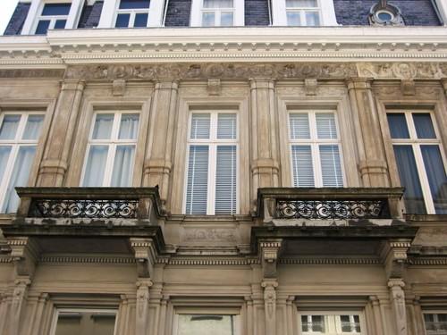 Antwerpen Hemelstraat 12-14 balkons