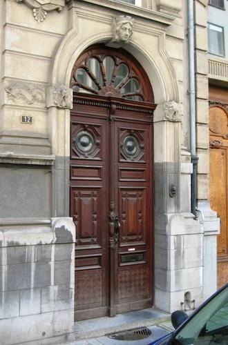 Antwerpen Hemelstraat 12-14 portaal
