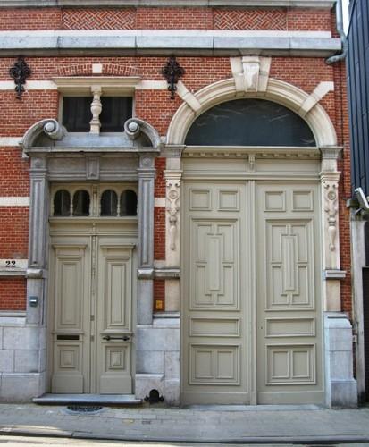 Antwerpen Sterstraat 22 portaal