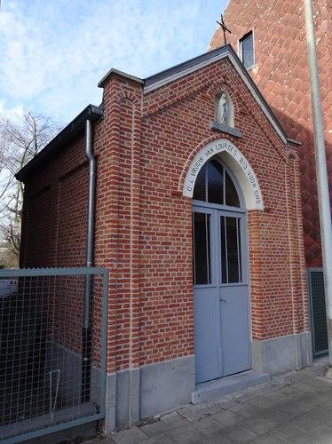 Stekene Regentiestraat zonder nummer Kapel Onze-Lieve-Vrouw van Lourdes