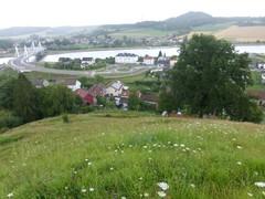 Kanne met het plateau van Caestert, de Tiendeberg en de Muizenberg