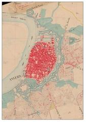 Historische stadskern van Antwerpen
