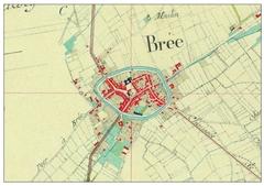 Historische stadskern van Bree