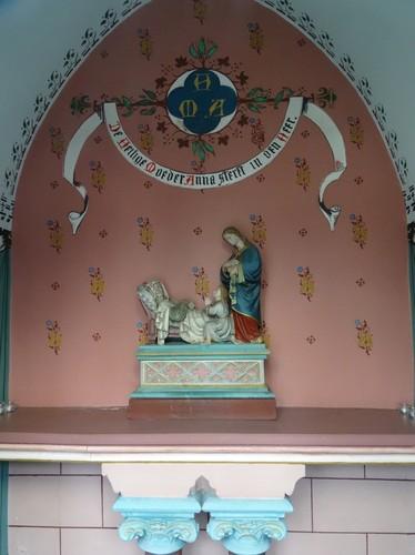Merelbeke Rid. A. Stas de Richellelaan 21, Statie Sint-Anna sterft in de heer