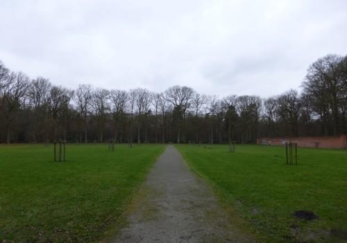 Voormalige moestuin - thans boomgaard - in Domein Ravenhof