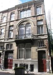 Burgerhuis in art-nouveaustijl