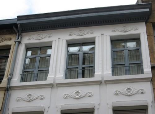 Antwerpen Sterstraat 19-21 stucdecor