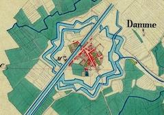 Historische stadskern van Damme