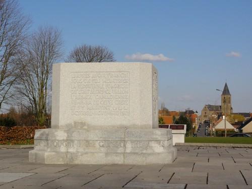Oorlogsmonument Canadian Memorial